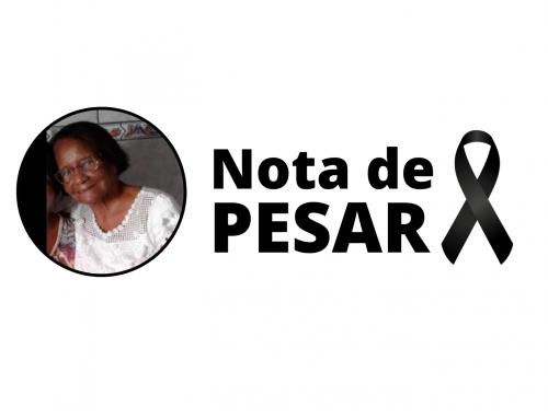 Nota de pesar pelo falecimento da pensionista e ex-integrante do Coral Caboprev, Luiza Helena