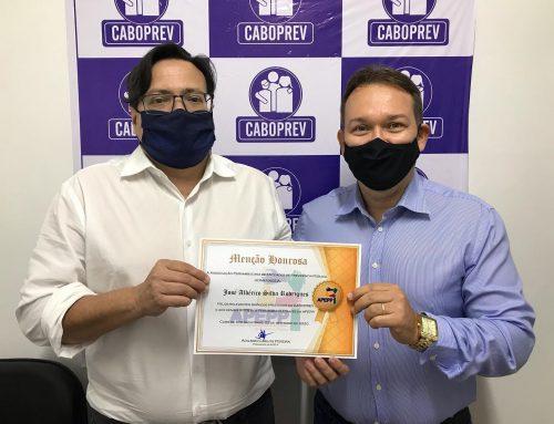 Caboprev recebe menção honrosa da APEPP