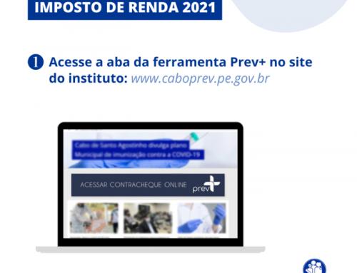 Caboprev disponibiliza informes de rendimentos dos aposentados e pensionistas de forma virtual