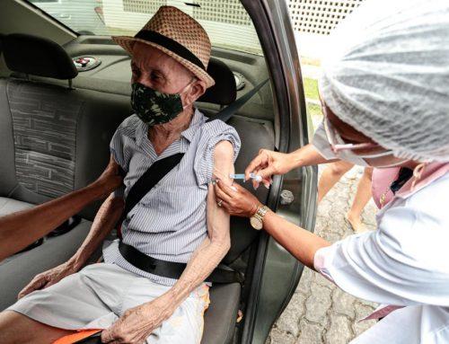 Prefeitura do Cabo inicia vacinação de idosos a partir de 78 anos