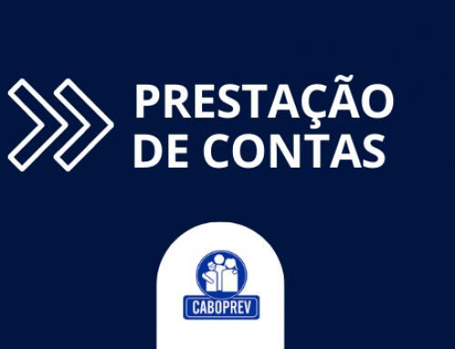 Caboprev realizará Prestação de Contas Virtual do exercício de 2020