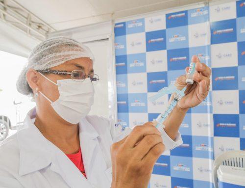 Prefeitura do Cabo lança Cronograma de Vacinação para pessoas a partir dos 51 anos